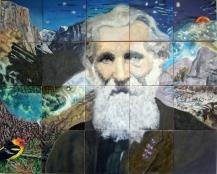 John Muir, Starry Range of Light, at Lafayette Library 2012-2017