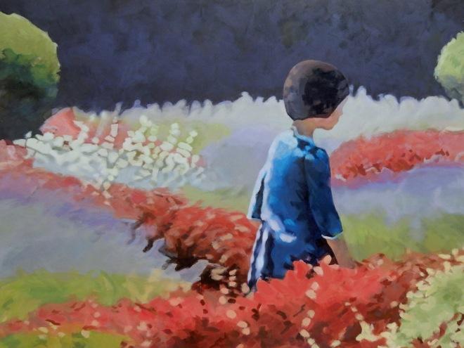 Stanton_Alone in the Garden_30x40
