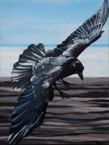Raven Returning By Suzun Almquist 18x24 $550